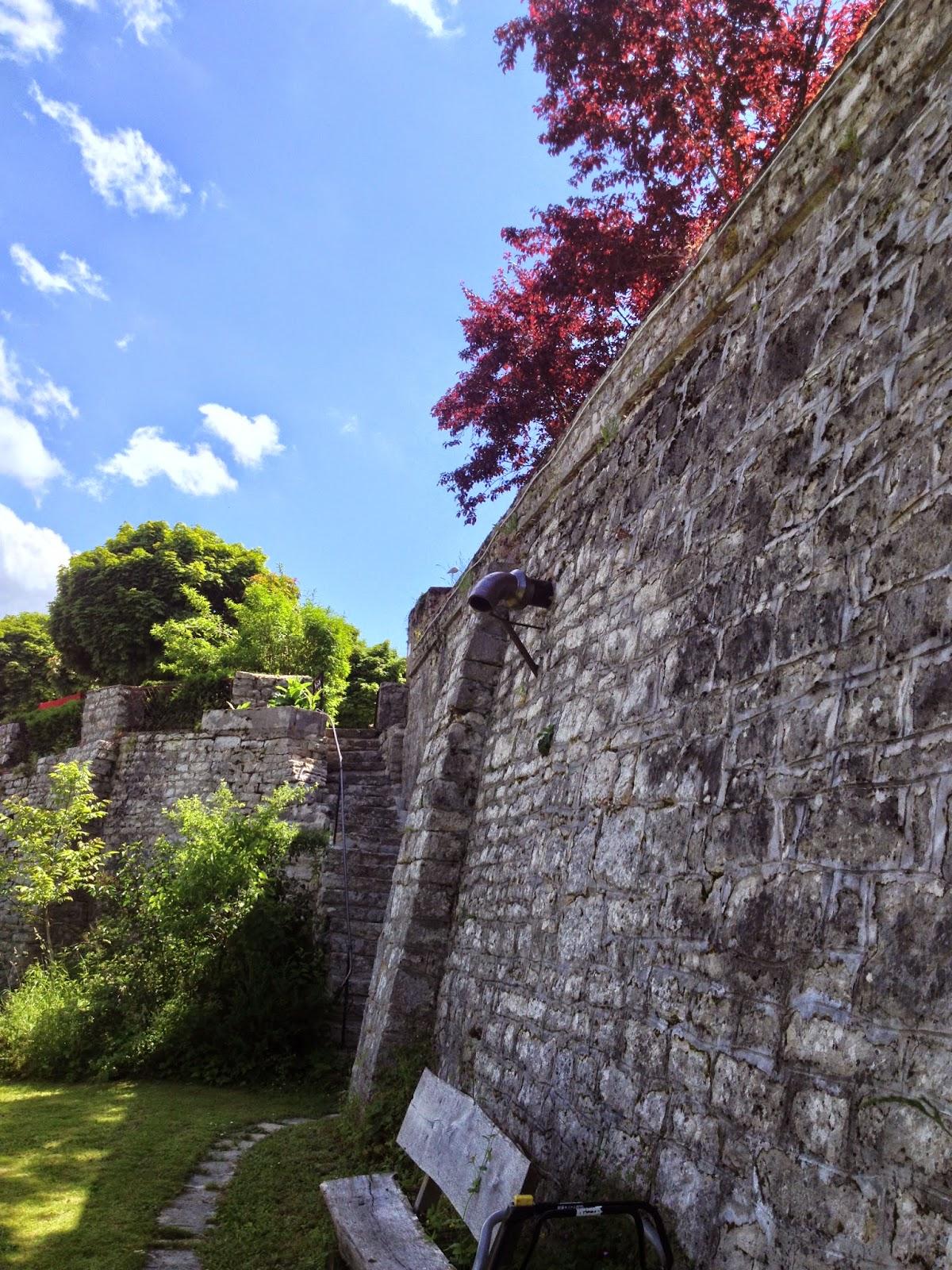 Kasteelmuur Schloss Möhren