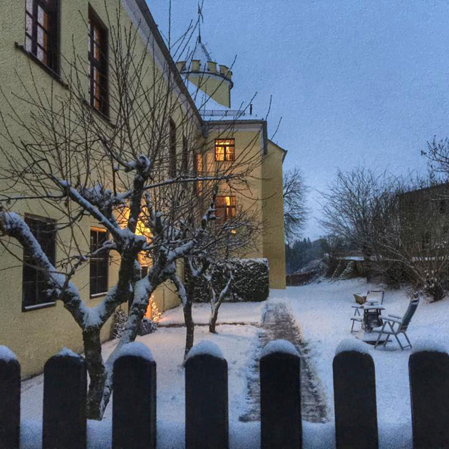 Winter Schloss