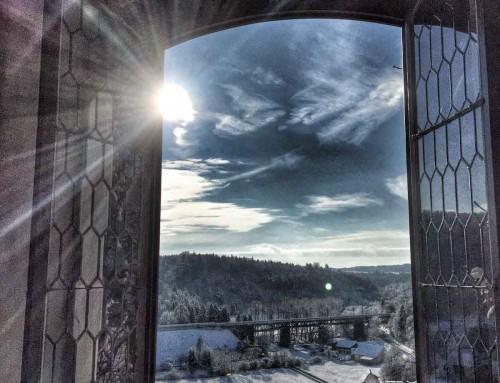 Tien keer winter op Schloss Möhren