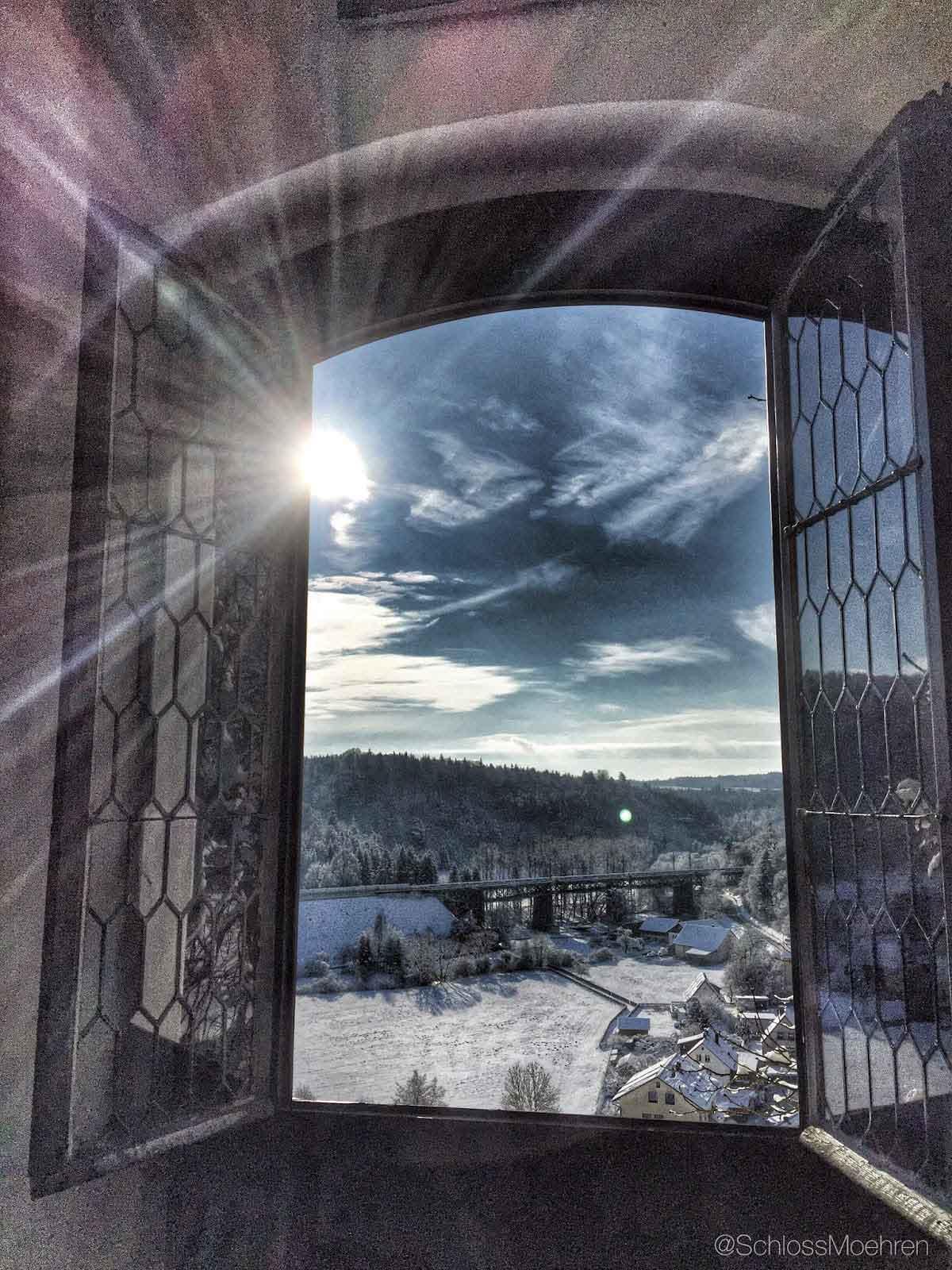 Winter op Schloss Möhren