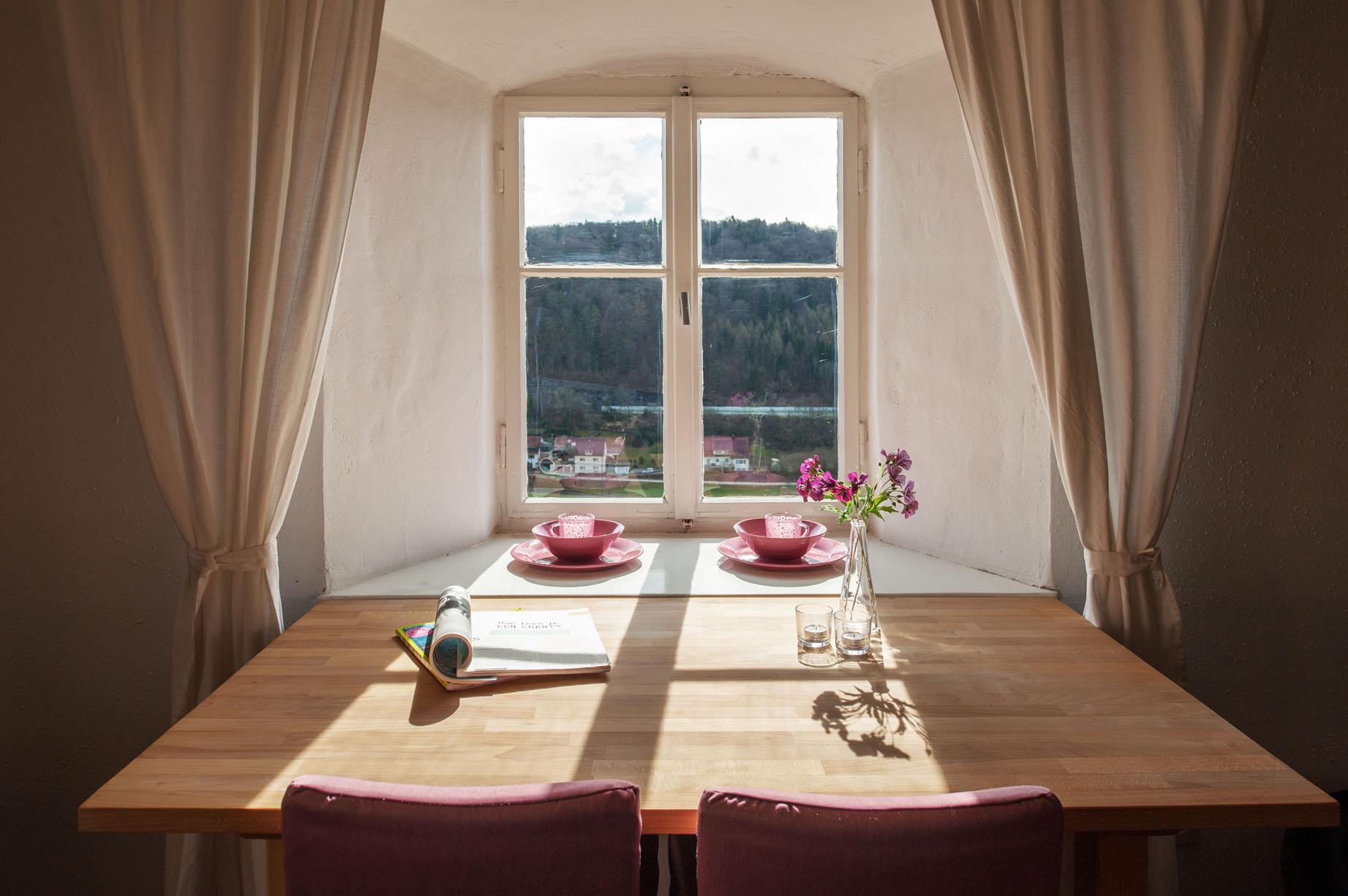 View Kasteeltoren Schloss Moehren