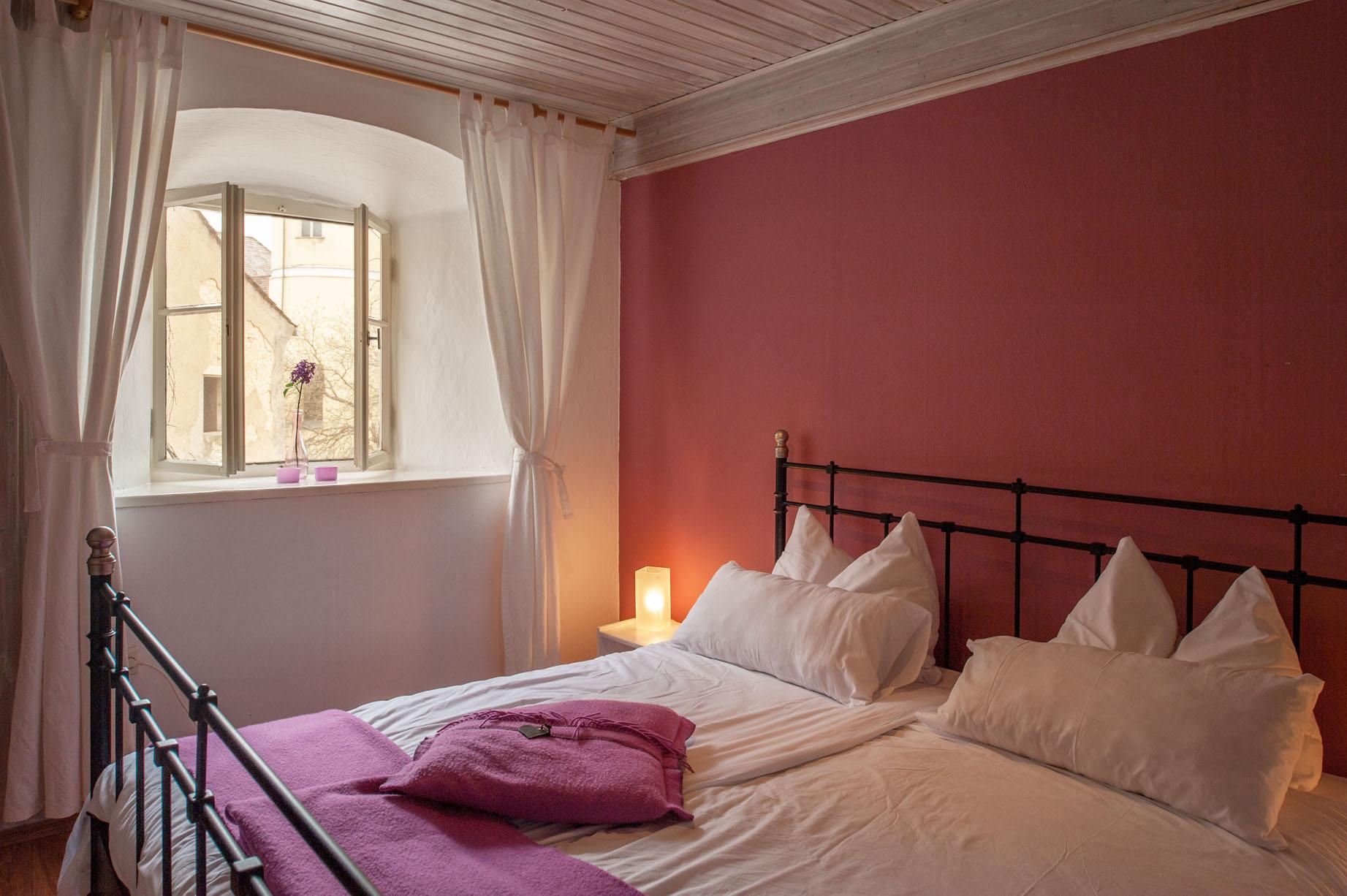 Slaapkamer vakantiehuis Torenwoning