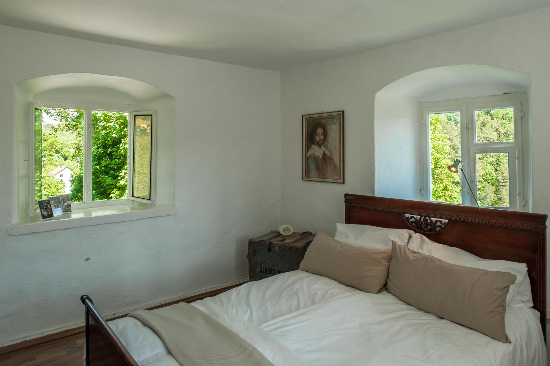 Woon/slaapkamer kasteeltoren Poorttoren
