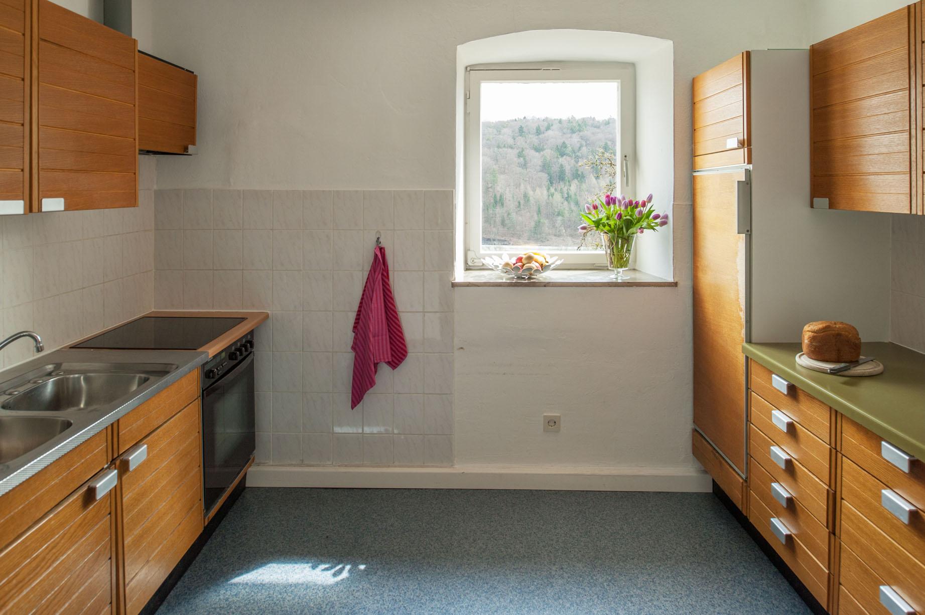 Keuken vakantiehuis Schweizerhaus