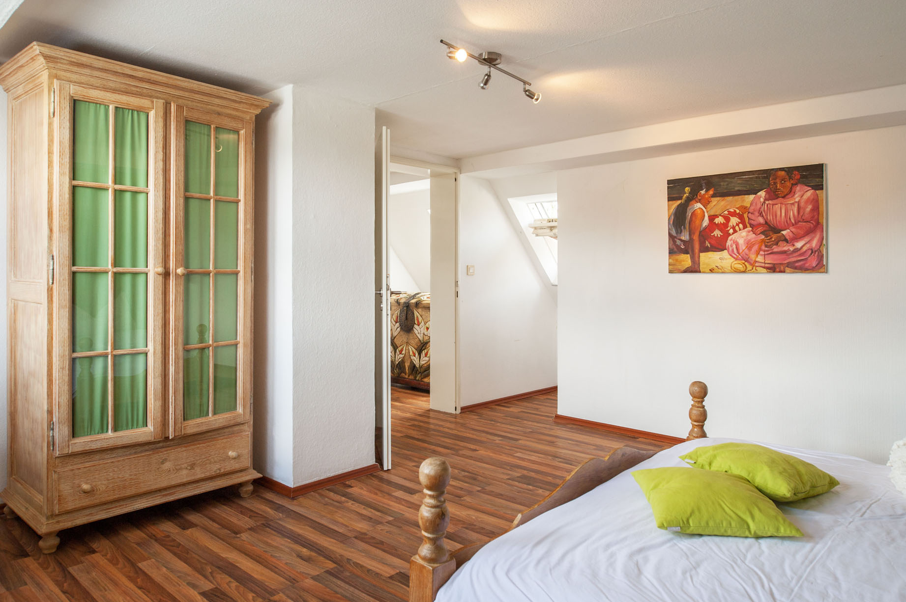 Slaapkamer vakantiehuis Schweizerhaus
