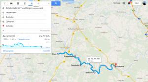 Fietsroute Naturpark Altmühltal 80 km