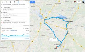Fietsroute steinreich 50km