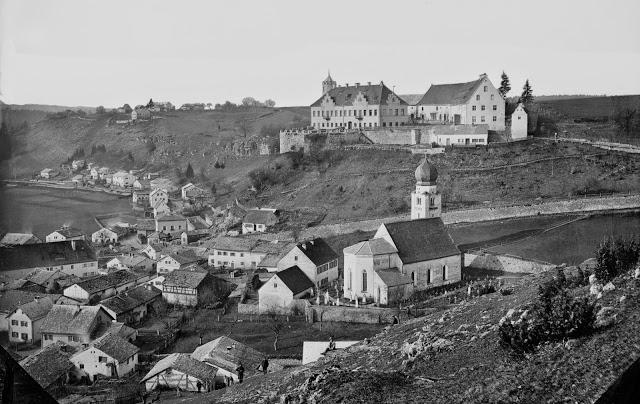 Schloss Möhren 1890