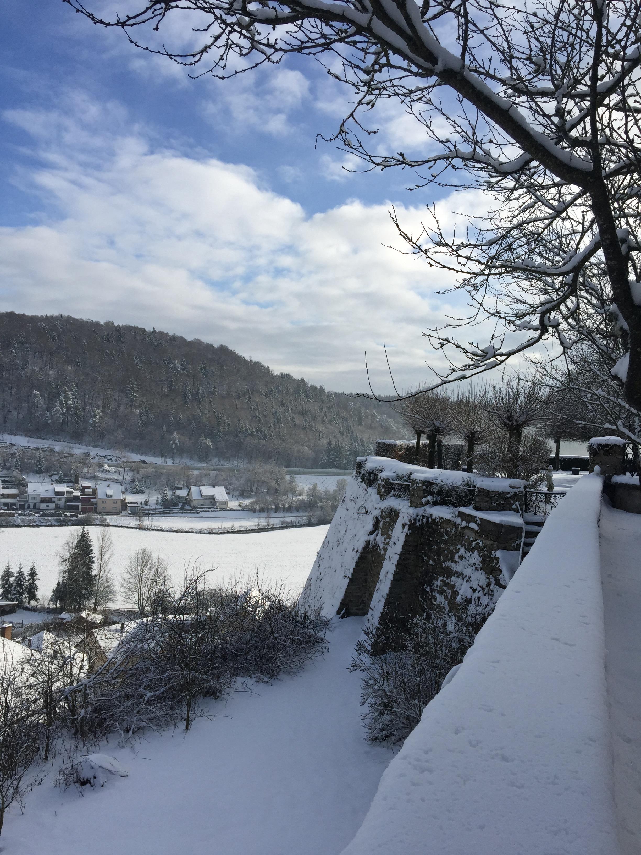 Winter in Altmühltal