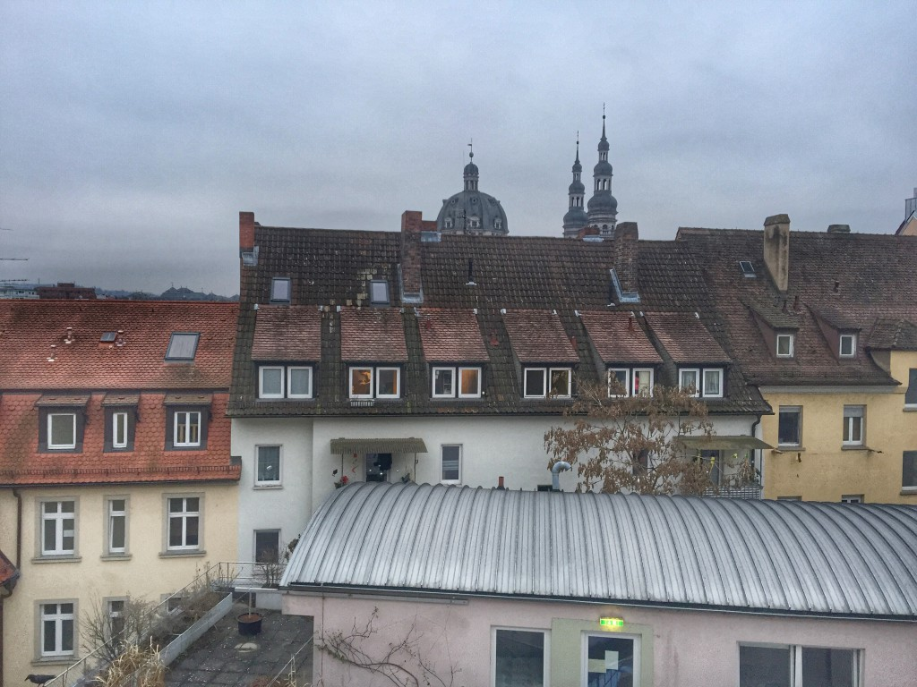 Rooftop view Würzburg