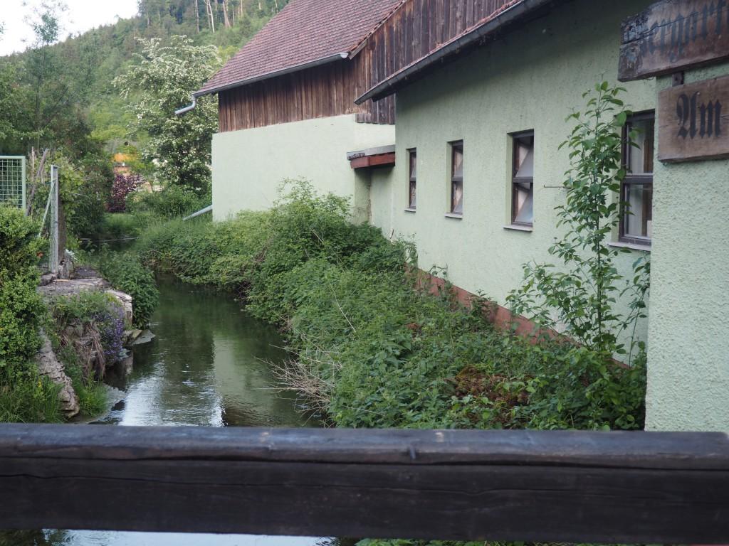 Biergarten Schloss Blick Möhren