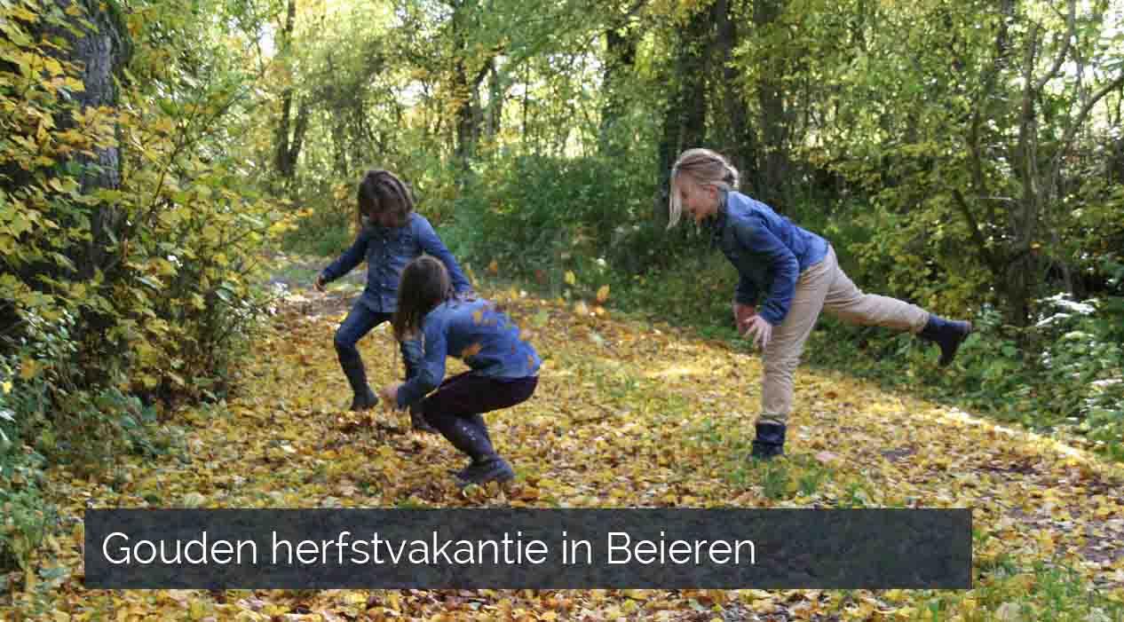 Gouden herfstvakantie Beieren
