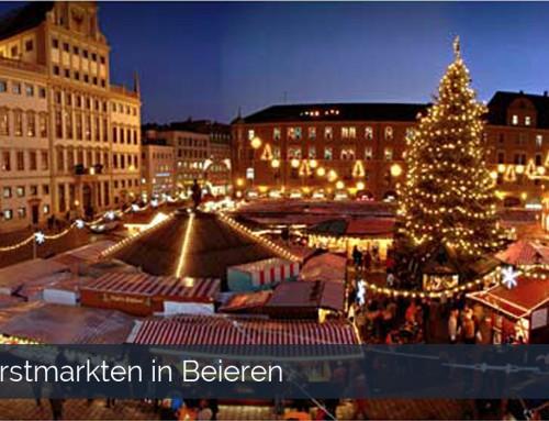 Kerstmarkten in Beieren
