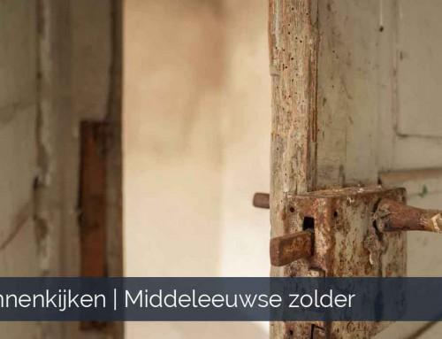 Binnenkijken op zolders van een middeleeuws kasteel