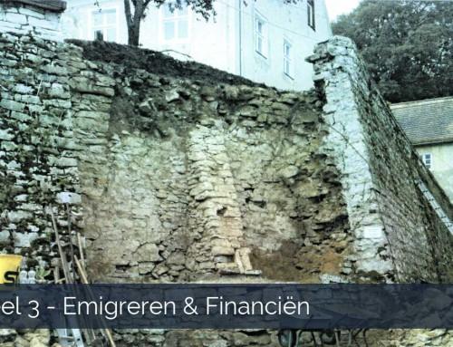 Deel 3 emigreren en financiën