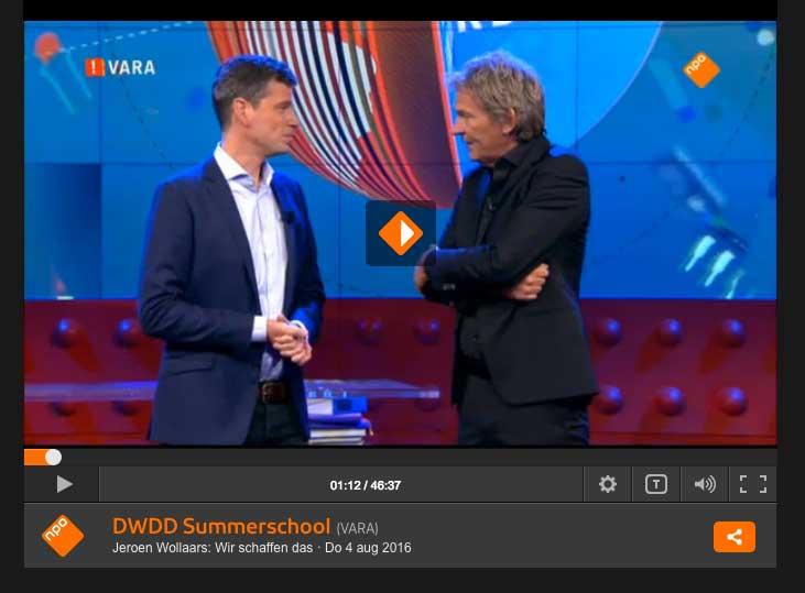 DWDD summerschool Duitsland 'wir schaffen das'.