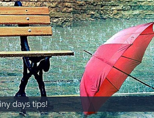 Rainy days tips