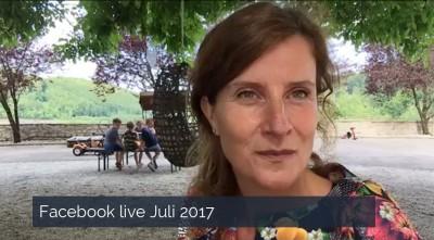 Facebook live Juli 2017