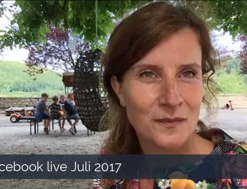Facebook live juli 2017 – Verhalen van het kasteel in Beieren