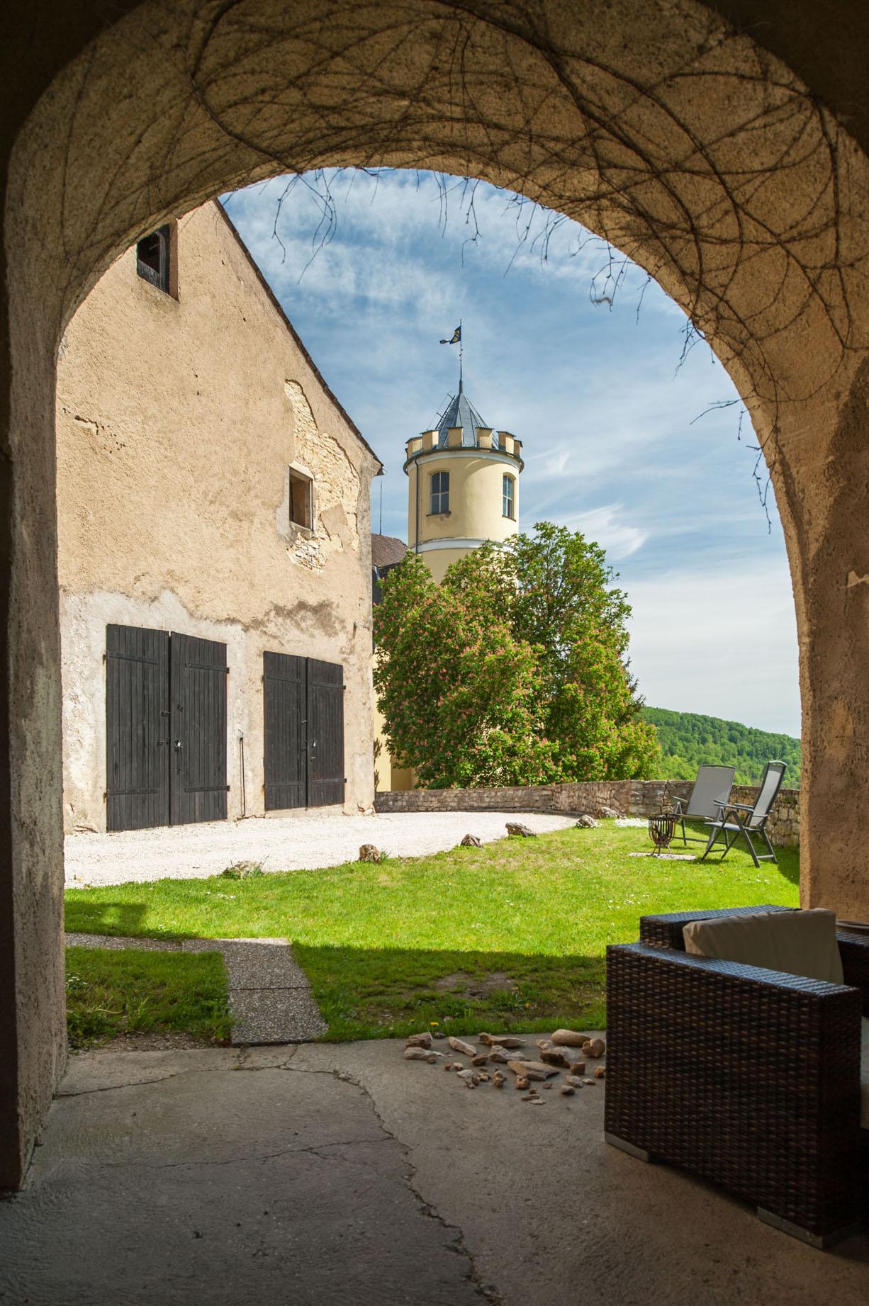 Vakantiehuis in kasteeltoren 2 - 4 personen