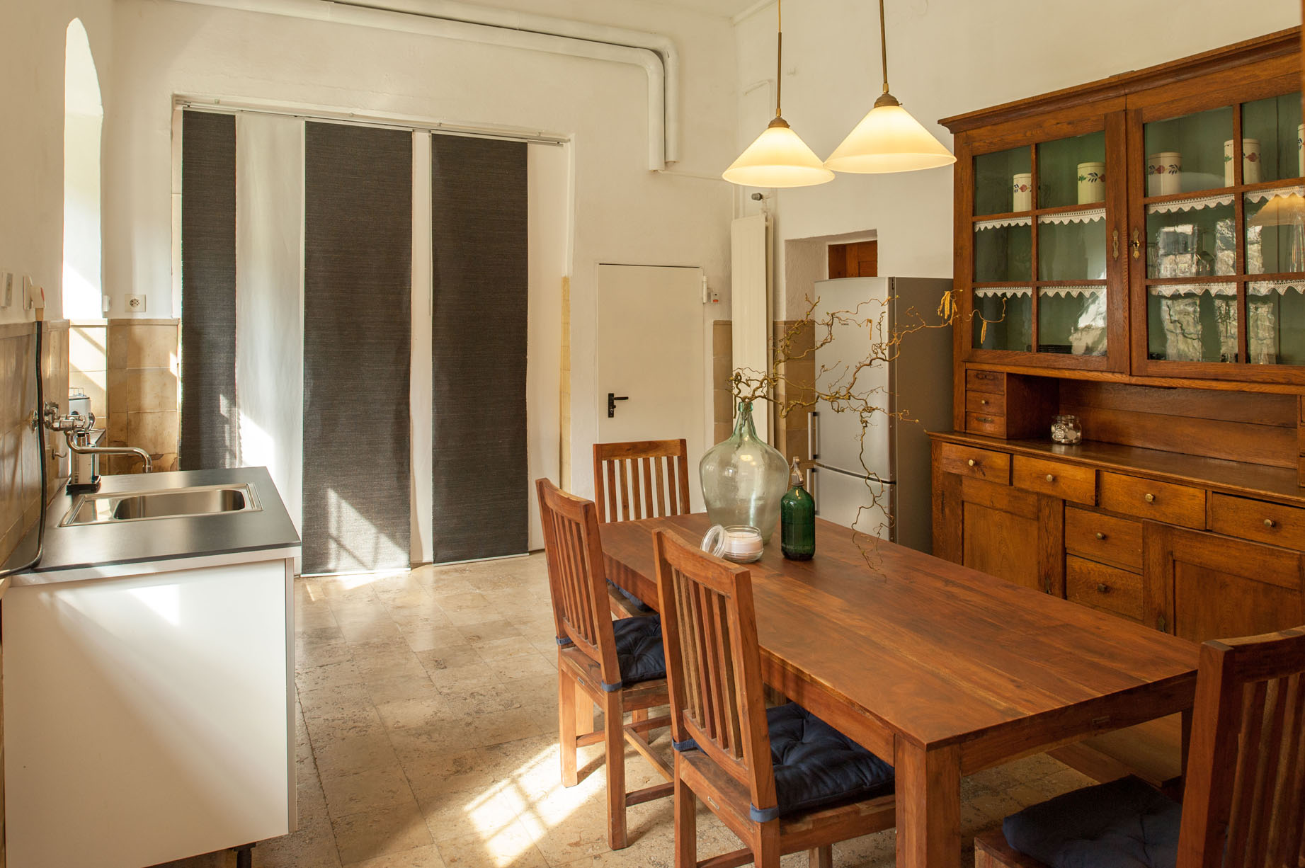 Keuken vakantiehuis Portierswoning