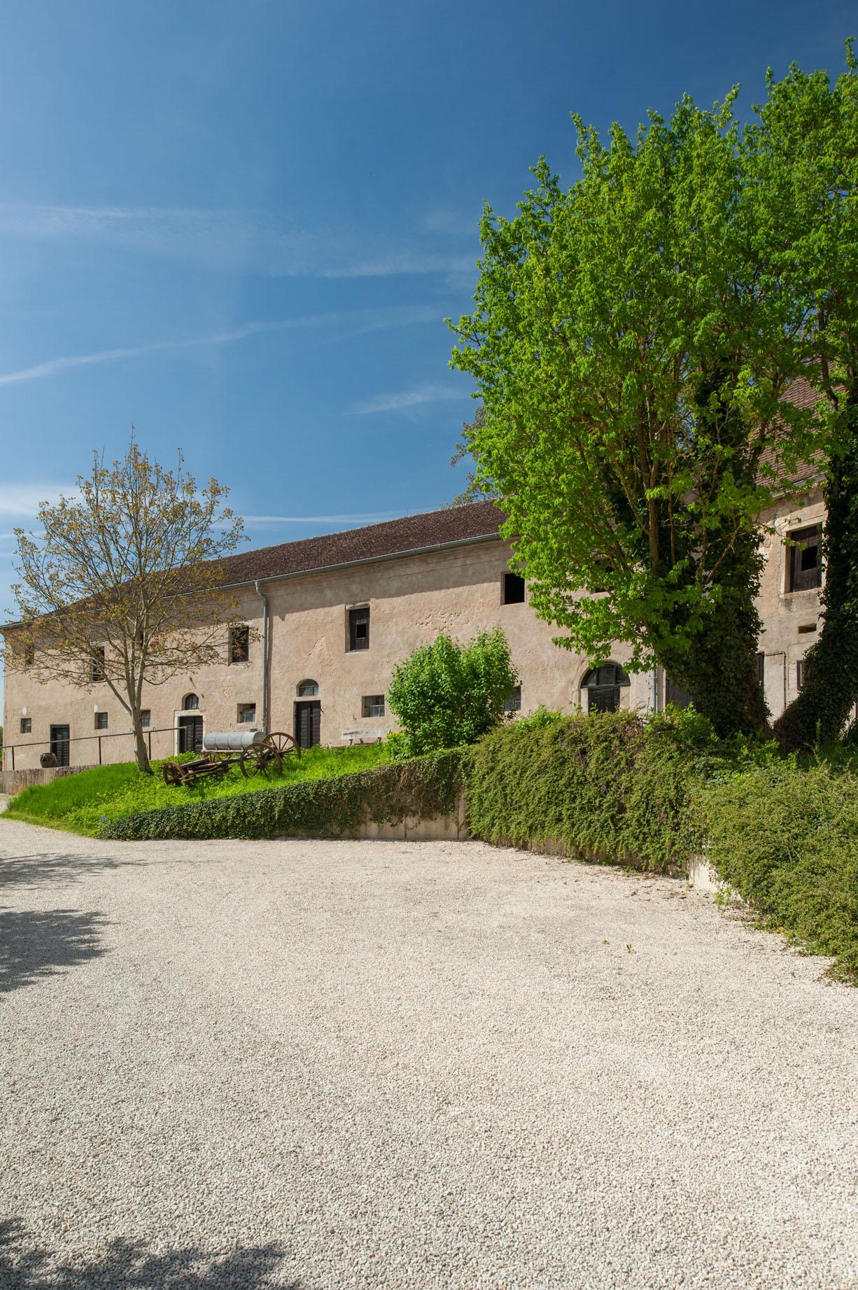 Bijgebouwen Guthaus landgoed Schloss Möhren