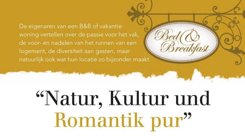 B&B Beieren Natur, Lultur und Pomantik pur