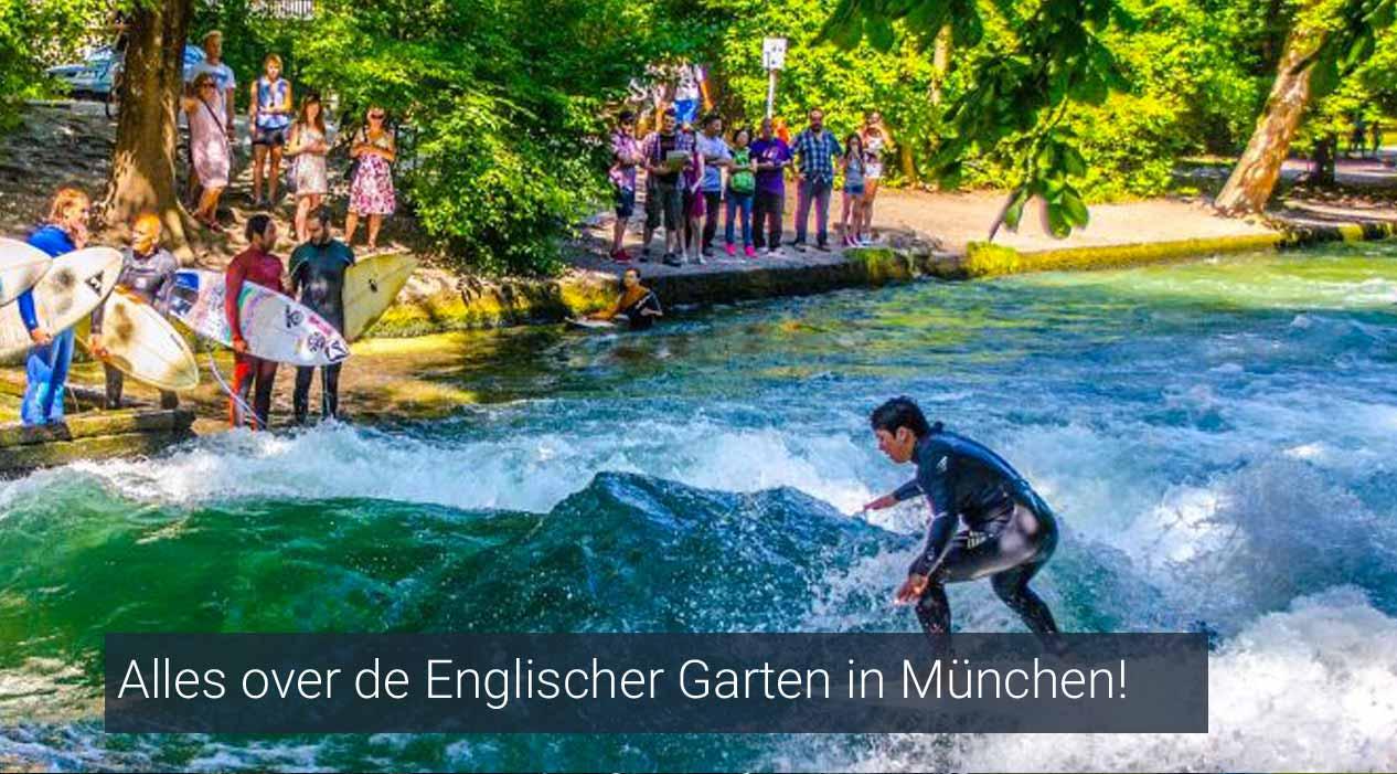 Alles over de Englischer Garten in München