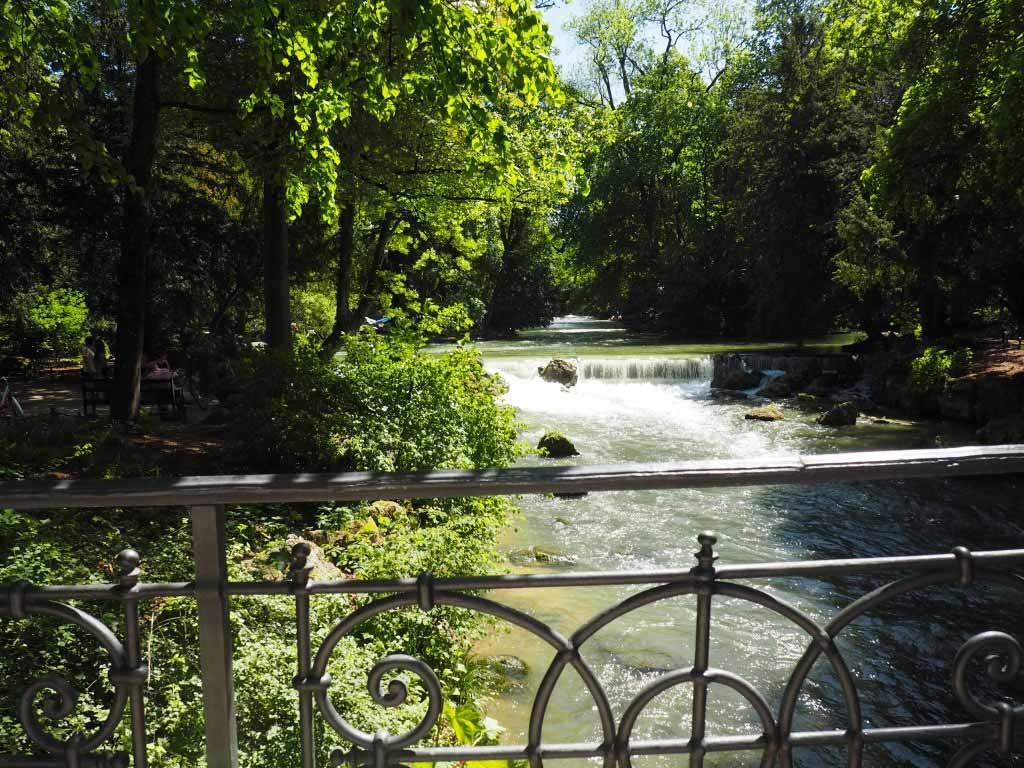 Englischer Garten in Munchen