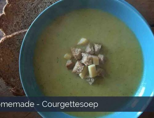 Courgettesoep maken!