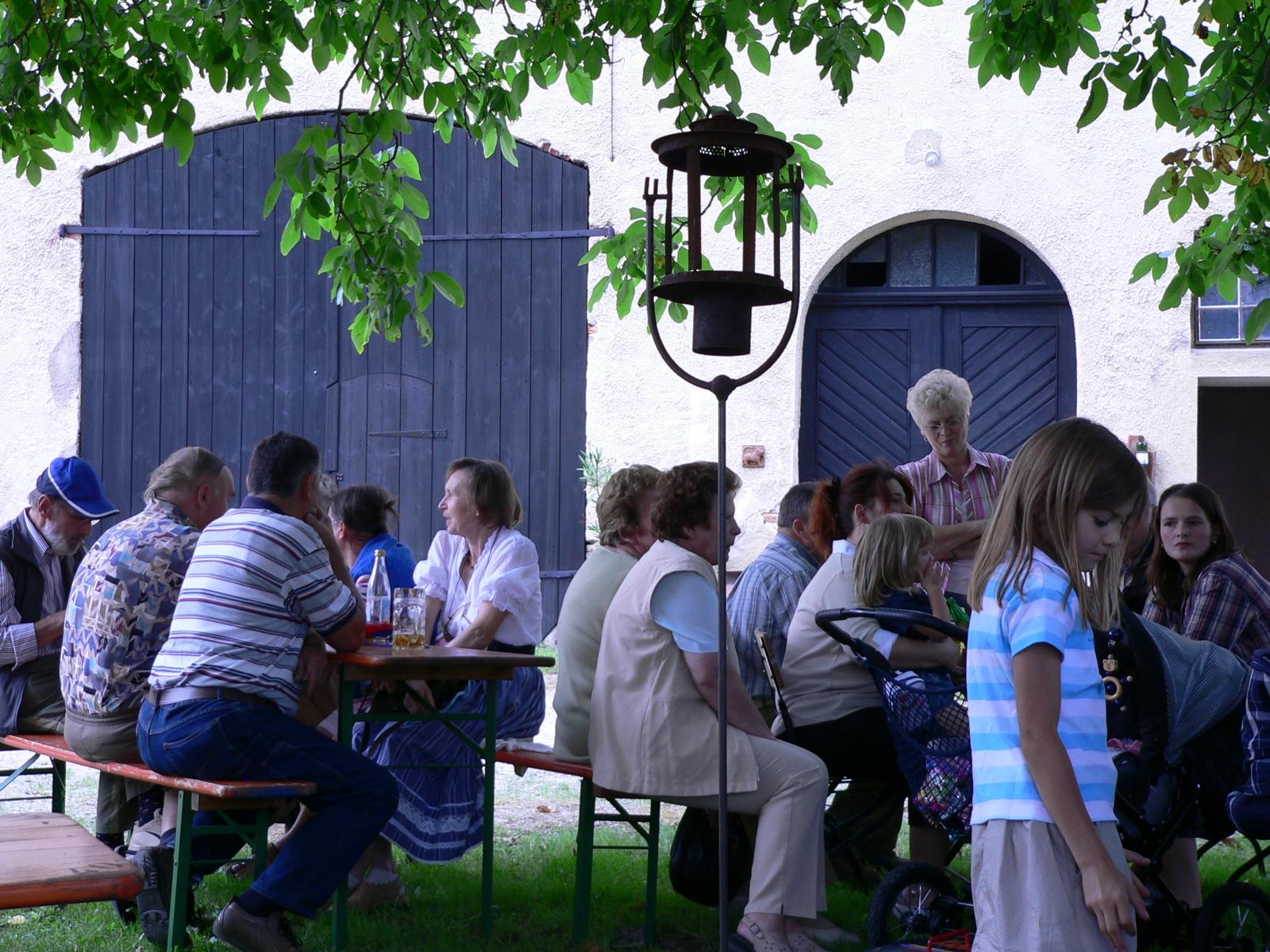 Tag der offenen Tür Schloss Möhren August 2005