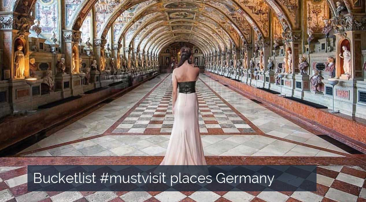 Bucketlist #mustvisit places Germany