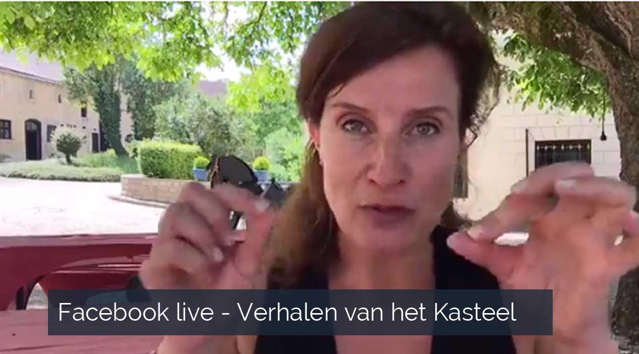 Facebook live - Verhalen van het kasteel in Beieren