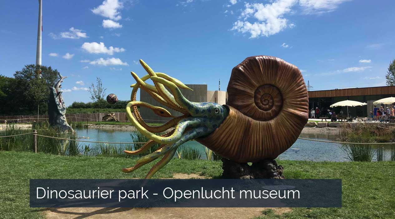 Dinosaurier park - Dinopark Beieren Duitsland