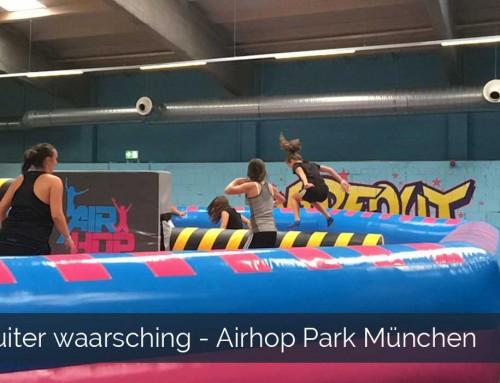 Stuiter waarschuwing – Airhop park München