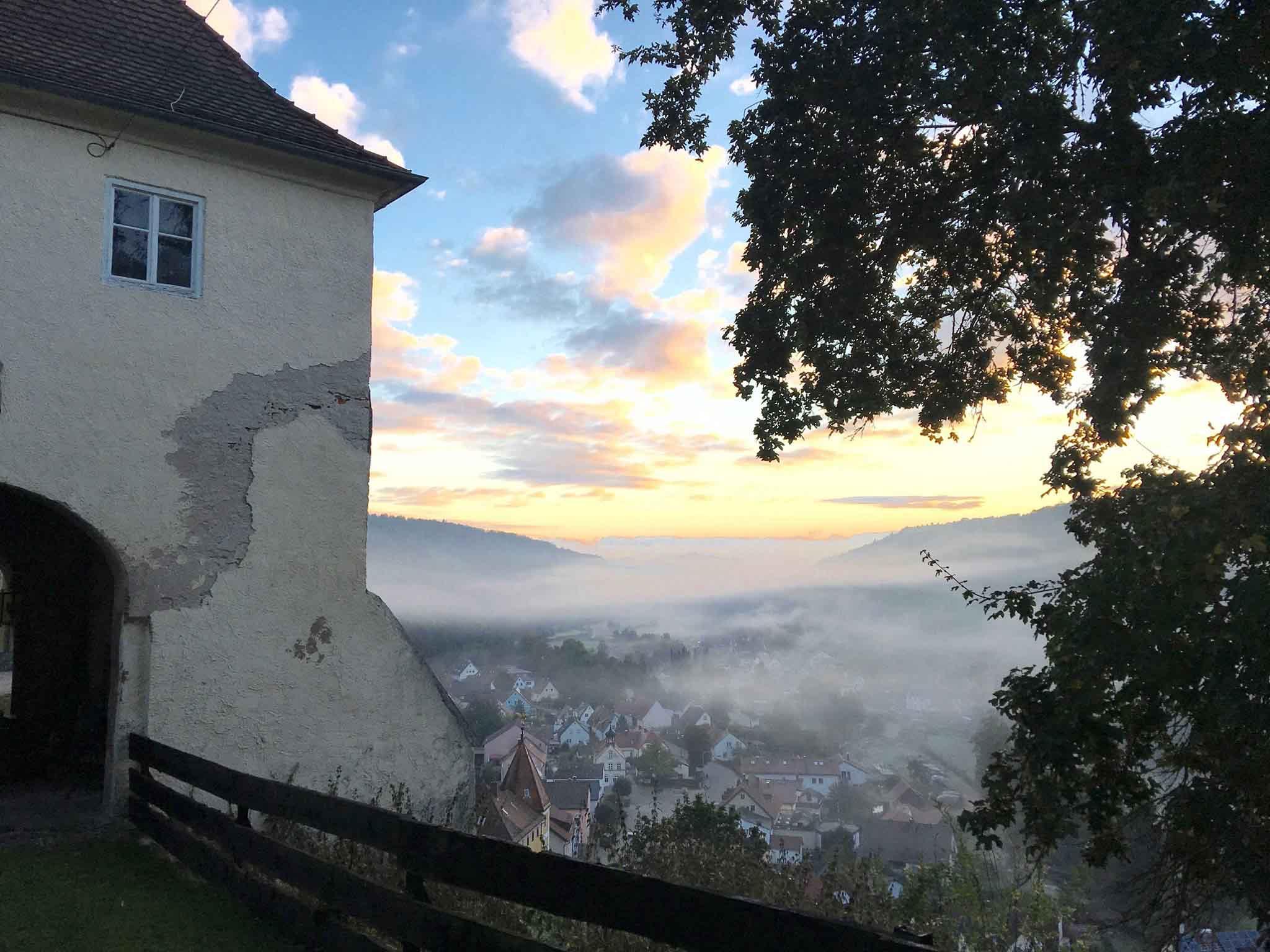 Herfstvakantie in een kasteeltoren in Beieren!