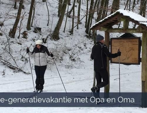 Drie-generatievakantie met Opa en Oma vakantiehuis Beieren Duitsland
