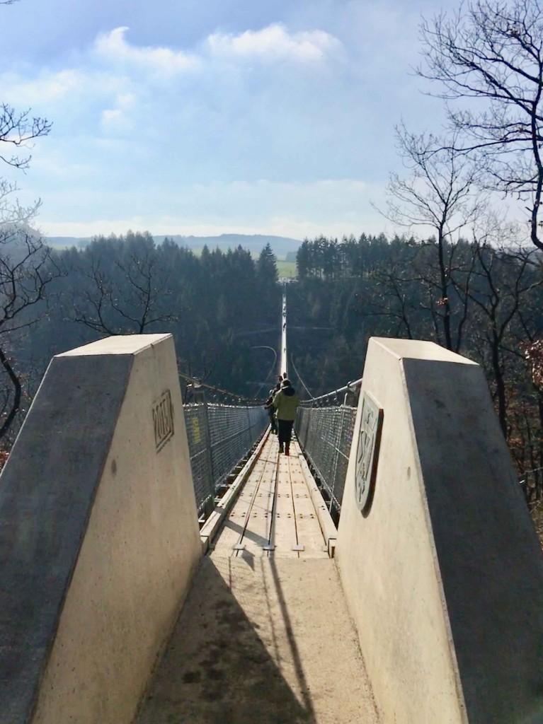 Voetgangershangbrug Geierlay