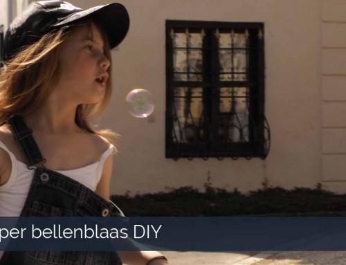 Super Bellenblaas xxl DIY ultieme vakantieactiviteit