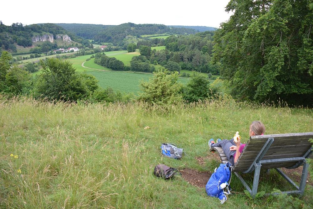Jägersteig Wandelen in het natuurpark Altmühltal