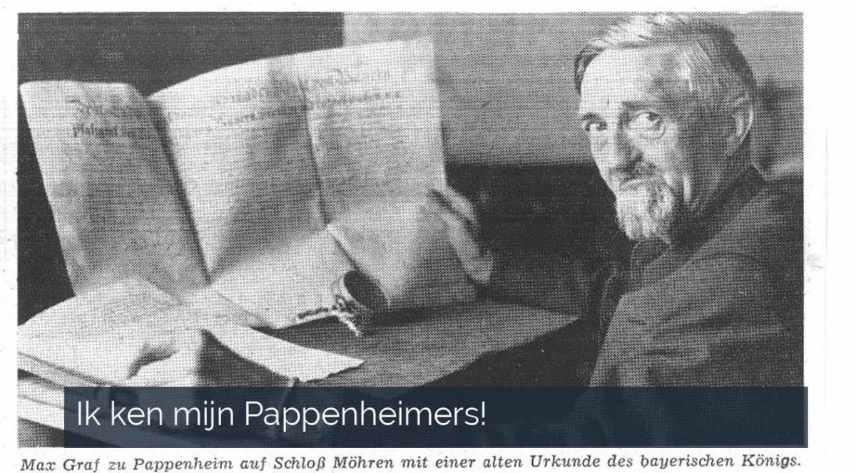 Ik ken mijn Pappenheimers