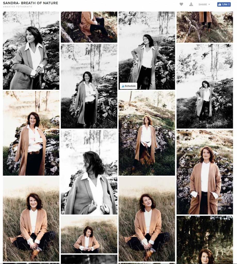 Portrait serie Sandra de Greeff