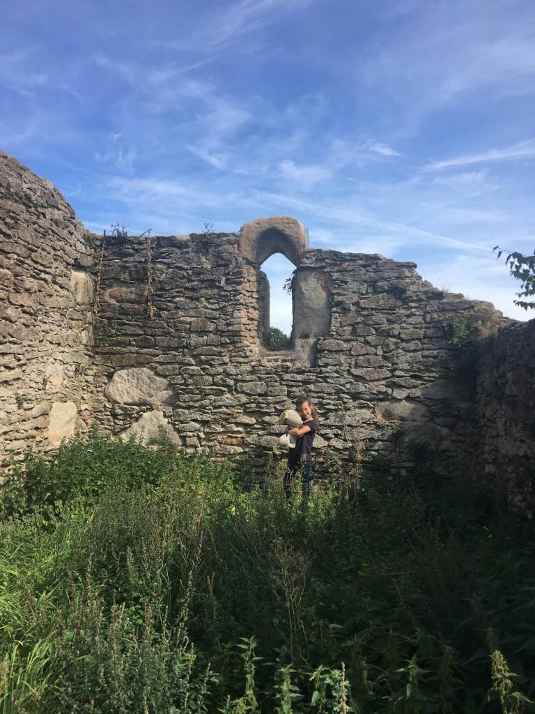 Ruine Heilig Kreuz Kapelle Pfofeld