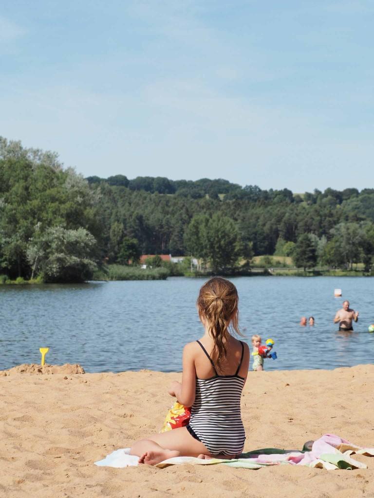 zwemwater zandstrand Beieren