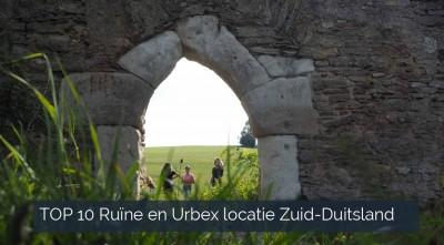 TOP 10 Ruïne en Urbex locatie Zuid-Duitsland