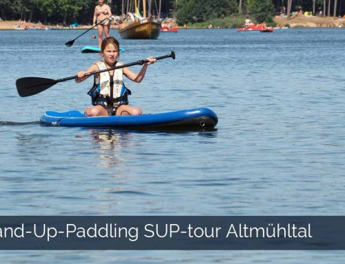 SUP-tour Stand-Up-Paddling Altmuhltal Brombachsee