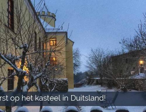 Kerst op het kasteel in Duitsland!