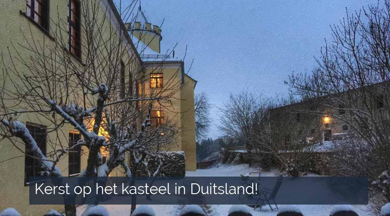 Kerst op het kasteel in Duitsland
