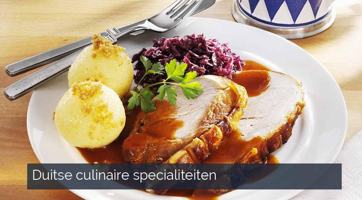 Duitse culinaire specialiteiten