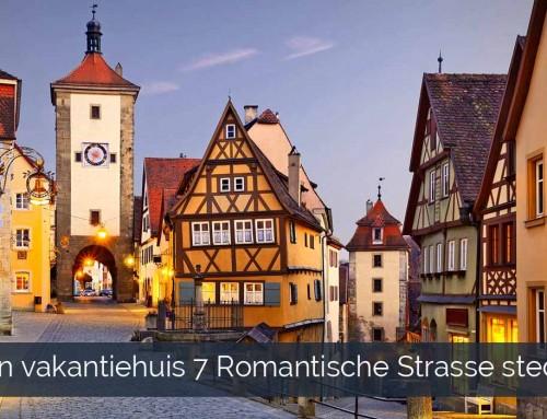 1 vakantiehuis 7 Romantische Strasse steden